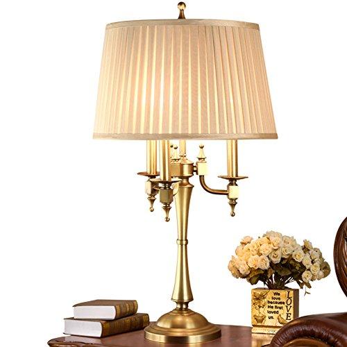 Retro Lámparas de mesa,Dormitorio Lámpara mesita de noche De lujo ...