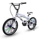 Riscko Bicicleta BMX 360º Blanco