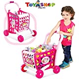 Toy Shop Kides Shopping Cart 3in1