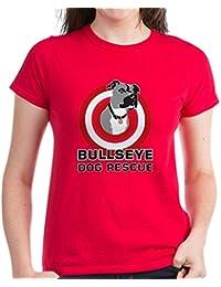 CafePress - Bullseye - Womens Cotton T-Shirt