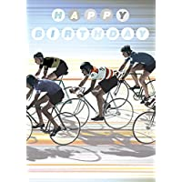 Happy Birthday Cyclists cartolina d'auguri da Max Hernn