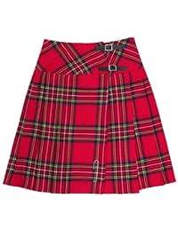 kilt/jupe pour femme - tartan Royal Stewart - 58,5 cm (longueur)