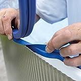 Gre FPR558 - Liner pour piscines rondes, Diamètre 550 cm, Hauteur 132 cm, Couleur Bleue