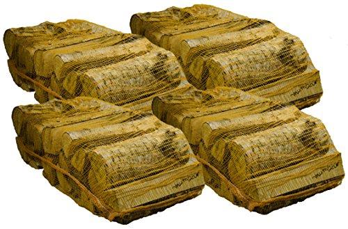 60kg mumba®-Feuerholz * BIRKE * Kaminholz Restfeuchte ca. 20% getrocknet (60 Kilogramm) -