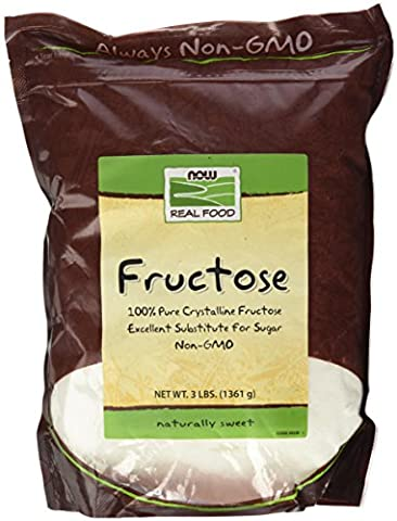 Fructose - 1.360 kg - Now foods