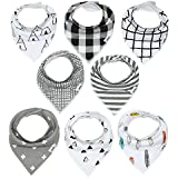 Baby Bandana Drool Bibs With Snaps