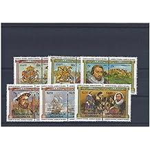 Casa de la Moneda Reyes y Reinas sellos para coleccionistas - 12 sellos con Enrique VIII, el Mary Rose y James I en el castillo de Edimburgo - Nunca bisagra