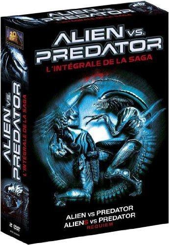 Coffret alien vs predator : alien vs predator 1 ; alien vs predator 2 : aliens vs predator requiem [
