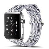 Uhrenarmband für iWatch, TopTen Leder Ersatz Zubehör Armband Armband für Apple Watch Serie 3 Serie 2 Serie 1 38MM J