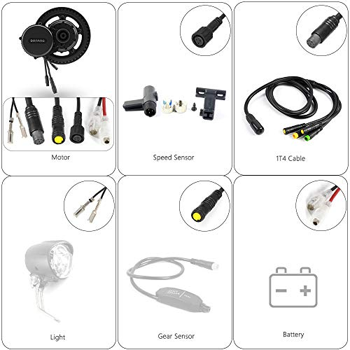 51uv8oN8wcL. SS500  - Bafang BBS01B 36V 250W Mid Motor Kit Road Bike Conversion Mid Drive Mountain Bike Mid Drive System