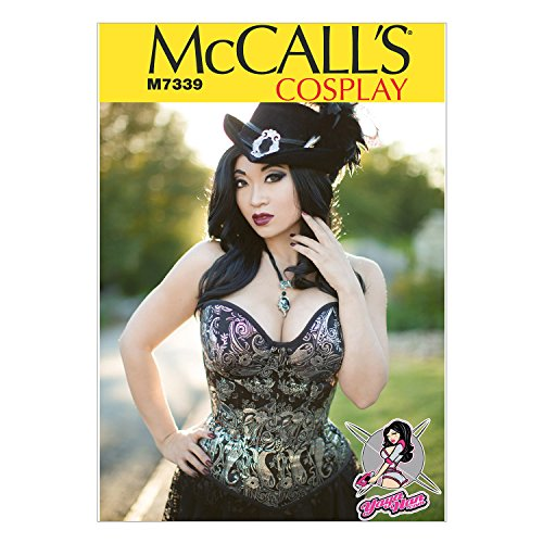 McCall 's Patterns 7339 E5 Größen 14–22 Misses Costumes, mehrfarbig