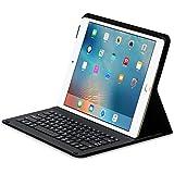 Sharon iPad Pro Hülle, Case mit Tastatur | Schutzhülle Tasche | Cover mit Keyboard- Bluetooth | Zubehör für iPad Pro Case, Smartcover Schutz | iPad Pro Tastatur, Keyboard QWERTZ- Layout