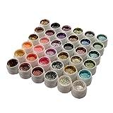36 Farben Glitter Gel UV Gel Farbgel