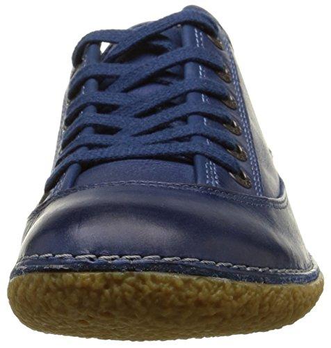 Kickers Hollyday, Baskets Basses femme Bleu