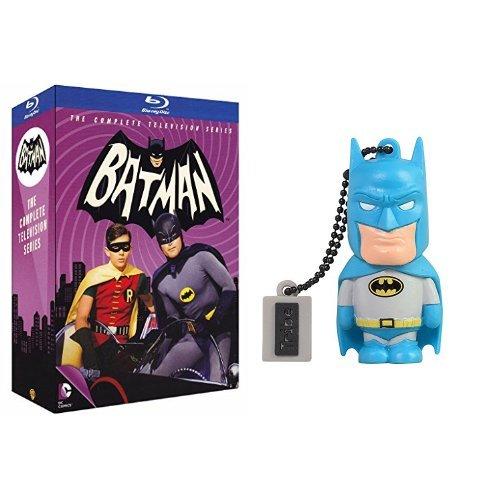 Batman: Serie Tv Completa (1966-'68) (13 Blu-Ray) + Chiavetta Tribe DC Comics Batman USB Stick 8GB