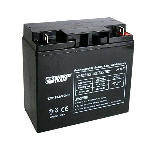 Batteria ermetica al piombo 12V 18Ah EnergyTeam