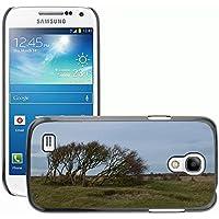 Carcasa Funda Prima Delgada SLIM Casa Case Bandera Cover Shell para // M00307962 Isola Albero Bush Natura // Samsung Galaxy S4 Mini i9190