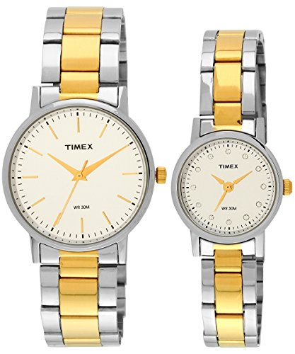 Timex Classics Analog Silver Dial Unisex's Watch-TW00PR197