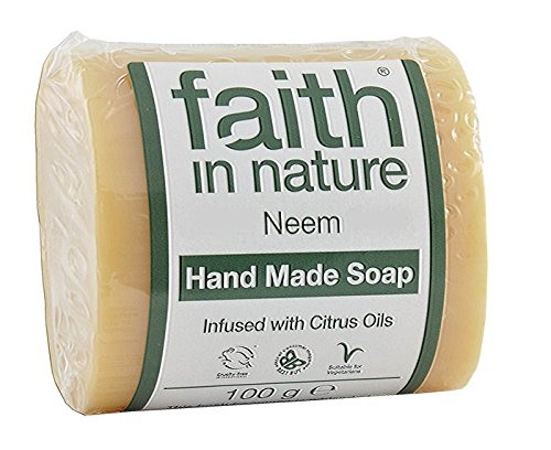 2-x-100g-bars-of-neem-propolis-faith-in-nature-soap-and-a-bamboo-zoo-face-flannel