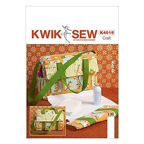 Kwik Sew Baby Sewing Pattern 4019 Nappy Diaper Bag
