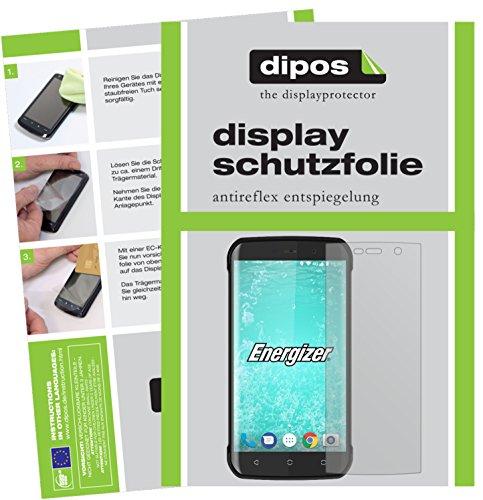 dipos I 6X Schutzfolie matt passend für Energizer Hard Case H550S Folie Bildschirmschutzfolie