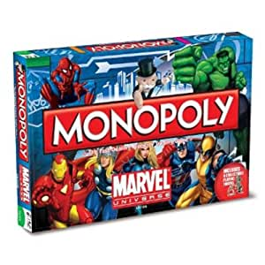 Winning Moves 18081 - Monopoly Marvel