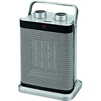 Bomann HL 1097 CB Keramik-Heizlüfter, 7-Stufen-Schalter, stufenlos regelbarer Thermostat, 1000/1500 W