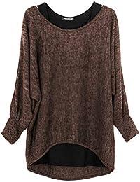 itA Fiori Tropicale ShirtTop Bluse Donna T Amazon E cJKlF1