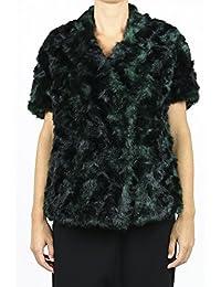 Pinko Giubbotto Cappa Maniche Corte Donna Verde Art. 1G120K Y2HK DISDIRE 1 5e8baecf3dc