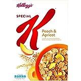 K Melocotón Y Albaricoque 360G Especial De Kellogg (Paquete de 2)