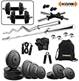 #8: Kore 20KG Combo 2-WB Home Gym