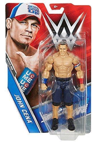 WWE Basic-serie 69 Actionfigur - John Cena 'HLR Rot Weiß Und Blau Attire'