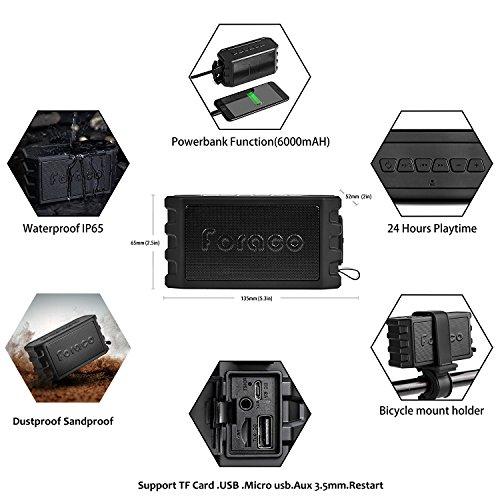 Altavoz Bluetooth Foraco