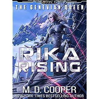 Rika Rising - Cyborg Queens and Fallen Empires (Aeon 14: The Genevian Queen Book 1) (English Edition)