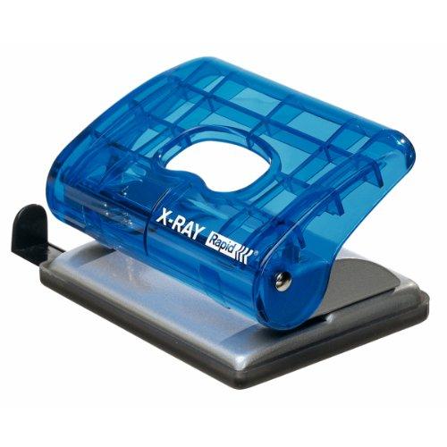 Leitz Bürolocher EC20, Kunststoff/Metall, 20 Blatt, blau