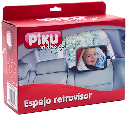 Piku On the Go - Espejo Retrovisor de Coche para Vigilar al...