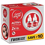 #7: Good knight Activ+ Liquid Refill, 45ml (Pack of 2) Red