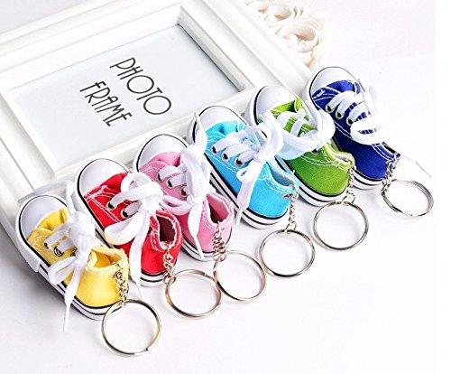 Unbekannt Sneaker Baby Kinder süßer Kleiner Schuh Schlüsselanhänger Anhänger Farbvarianten (gelb)