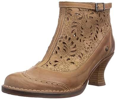 Neosens ROCOCO, Damen Kurzschaft Stiefel, Beige (LINO), 36 EU