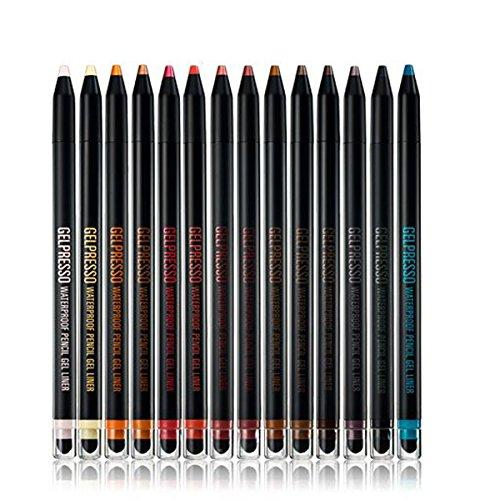 Clio Gelpresso Pencil étanche Gel Liner () 12 minuit Gris