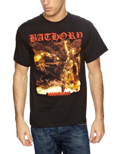 Plastic Head - Bathory Hammerheart, T-shirt da uomo, Nero (Schwarz (Black)), Medium