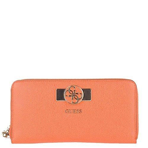 Devinez portefeuille des femmes ORANGE VG456646