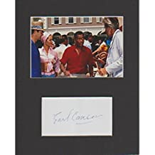 James Bond-Earl Cameron originale AFTAL COA Signed Autograph
