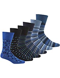 Pierre Roche Comfort Fit Non-Elastic Top Socks 6-11