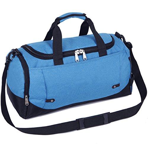 LAIDAYE Großvolumige Tragbare Gepäcktaschen Sport Und Fitness Sporttasche Fitnesstasche Große Kapazität Handtasche 3