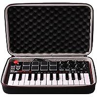 Funda rígida de transporte para Akai Professional MPK Mini MKII: 25 teclas USB MIDI y controlador de teclado # 29646