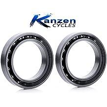 KZT6806-2RSC Rodamiento de bolas de cerámica impermeables, 30 x 24 x 7 mm, 2 unidades, para BB30, PF30, para bicicleta, ciclismo de carretera y triatlón