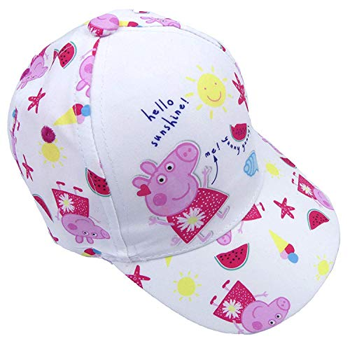 The Pyjama Party Peppa Pig Baseball Kappe Sommerhut Hello Sunshine Design DREI - Mehrfarbig, EU 104-110 (Pig Peppa Hut)