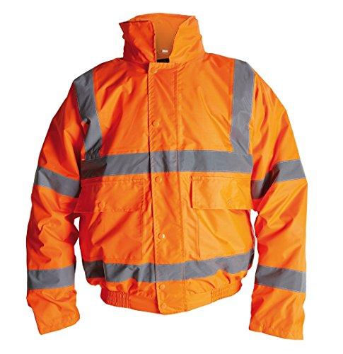 Kleidung Briggs (Briggs hv11or560Perforce orange Klasse 3Hi Viz Bomber Jacke, Größe 3X Große, orange)