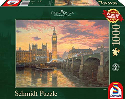 Schmidt Spiele 59471 1000pieza(s) Puzzle - Rompecabezas (Jigsaw Puzzle, Ciudad, 693 mm, 493 mm, 372 mm, 272 mm)